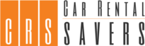 CarRentalSavers.com Logo, car rental coupons and car rental discounts.